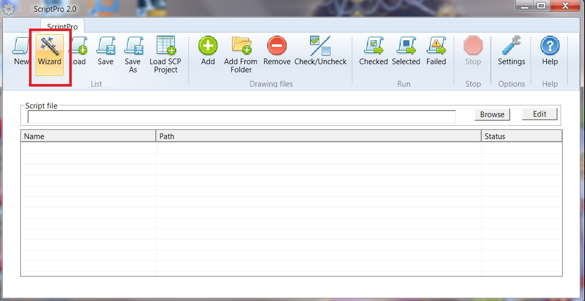 Batch purging of drawing files using ScriptPro 2 0 - AutoCAD DevBlog