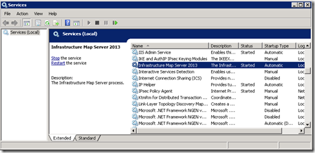 Installing Autodesk Infrastructure Map Server 2013 step by