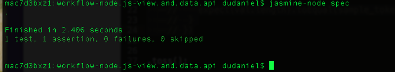 First time run, http status fail