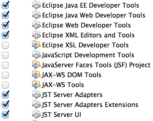 Eclipse packages 2