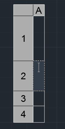 Rows with varying width