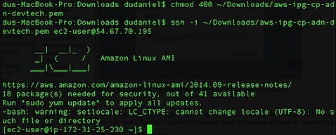 Setup NodeJs Enviroment on Amazon EC2 linux
