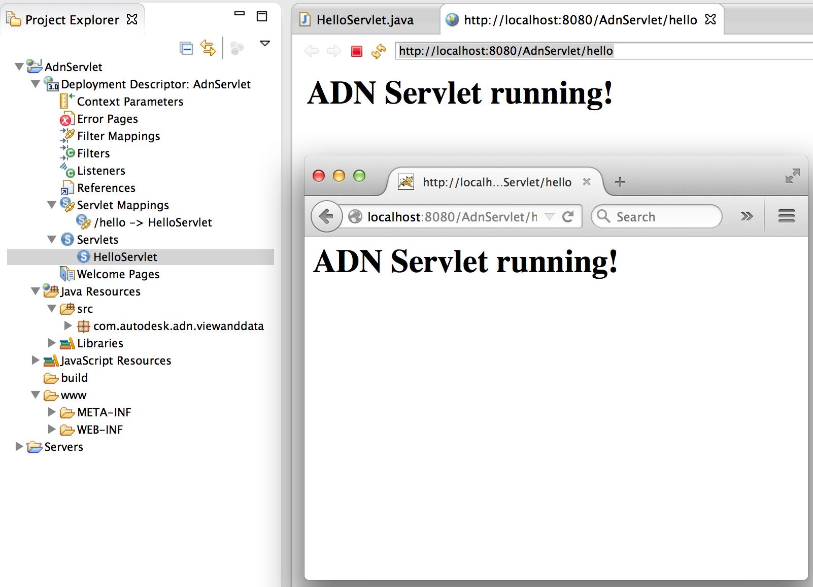Become a java ee developer part i tomcat setup and my first servlet servlet demo baditri Gallery