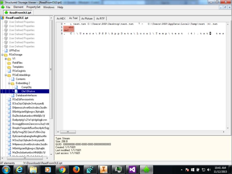 StructuredStorageViewer