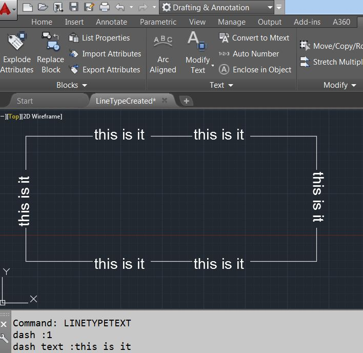Autocad devblog update the above code is not equipped to handle shapesymbol in linetype you can use the linetypetablerecordapenumberat api to determine if shape malvernweather Image collections
