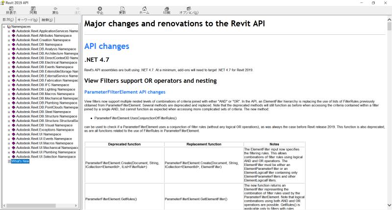 Revit API Reference