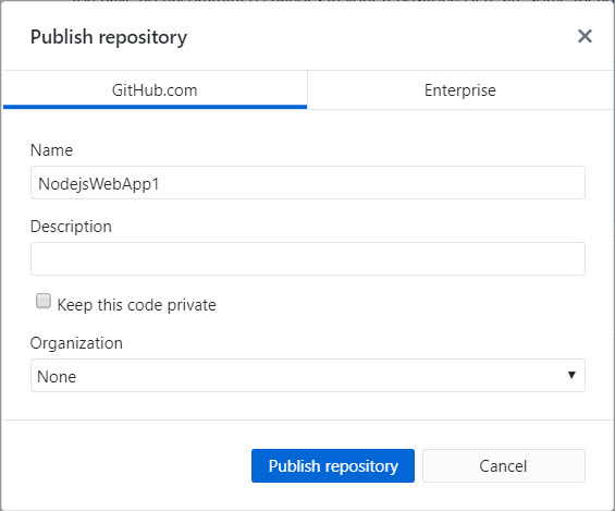 Publish_repository_dialog