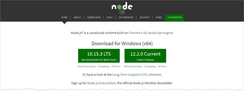 Nodejs_download_page